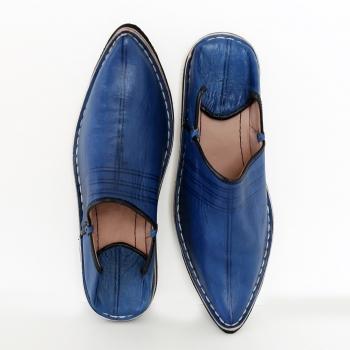 Marokkanischer Schuhe Blau
