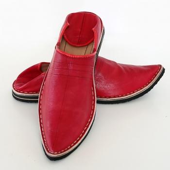 Marokkanischer Schuhe Rot