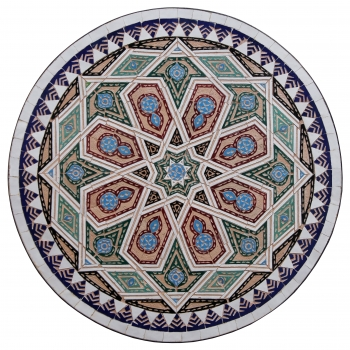 Marokkanischer Bistrotisch SCHELHAOUI-I D60cm