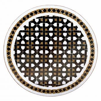 Gartentisch aus Mosaik Senegal-3
