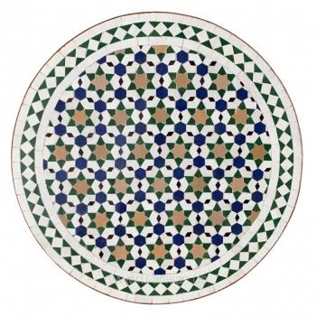 Gartentisch aus Marokko Shikal Bunt D60cm