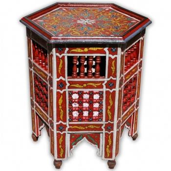 Beistelltisch Handbemalen in Maurischen- Stil aus Marokko