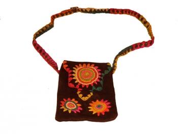 Wildleder-Tasche