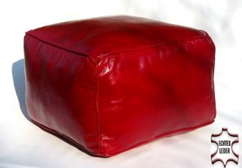 Orientalisches Sitzkissen Carre 45x45 cm Rot