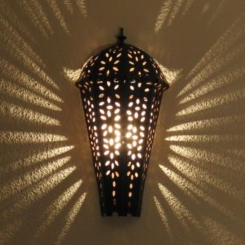 Schmiedeeisen Wandlampe Marokko Gazala H50cm