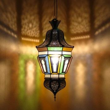 Orientalische Lampe Chinoise H110cm
