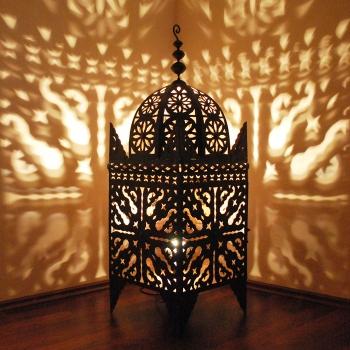 Marokkanische Eisenlaterne Jama100 100cm