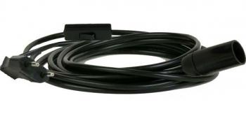 Schalter-stecker-Kabel-Fassung kombination für Hennlampen, Eisenlaternen ...