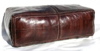 Orientalischer marokkanischer Sitzkissen Braun XL 105x50cm