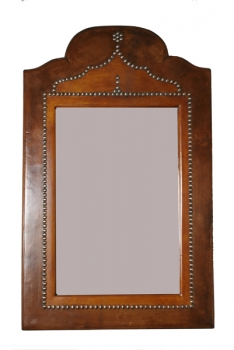 Marokkanischer Spiegel Leder