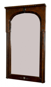 Spiegel aus Marokko (Leder)