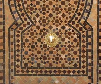 Mosaikbrunnen aus Marokko
