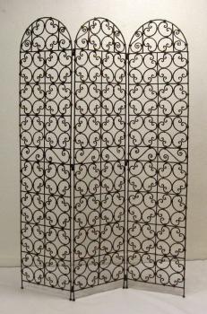 Orientalischer Paravant aus Eisen Oulja H174xB132cm