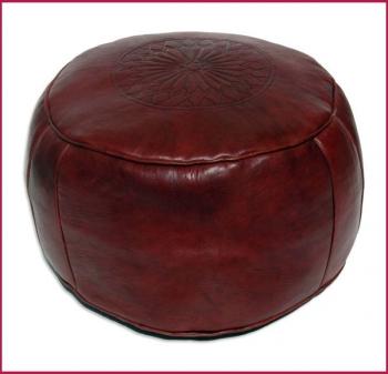 Orient Sitzkissen Salè D48cm Bordeaux rot