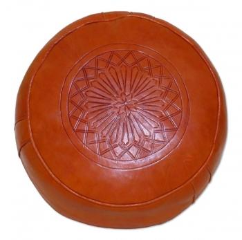 Marokkanisches Sitzkissen SALE Orange D42cm