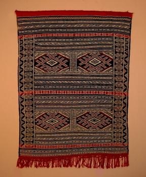 Kilim aus Marokko ,,Khemissat handgeknüpft Maße: 1,68 x 1,16 m
