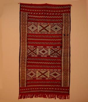 Teppich aus Marokko ,,Khemissat handgeknüpft Maße: 1,85 x 1,00 m