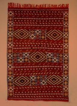 Kelim aus Marokko ,,Tiffalt handgeknüpft Maße: 2,44 x 1,53 m