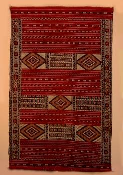 Kelim Teppich ,,Tiffalt handgewebt Maße: 2,70 x 1,64 m
