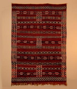 Kelim -Nord Afrika ,,Tiffalt handgewebt Maße: 2,00 x 1,38 m