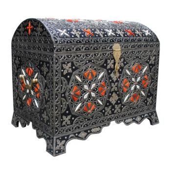 Orientalische Truhe aus Marokko Kenz
