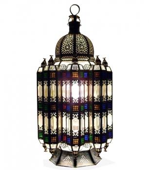 Orientalische Leuchte aus Messing Momtaz 90