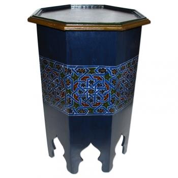 Marokkanischer Teetisch aus vollem Holz