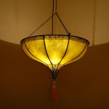 Marokkanische Leuchte Warda_L aus Messing.