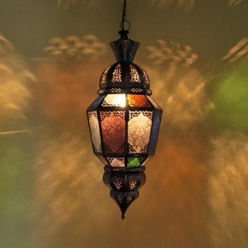 Marokkanische Deckenlampe  Batika Multi. H70cm