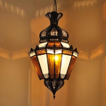 Arabische Deckenlampe Argana H67cm