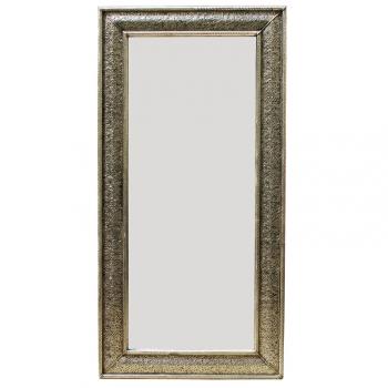 Orient Spiegel Riyad aus Versilbertem Messing H 200cm