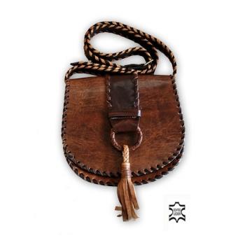 Marokkanische Tasche aus echtem Leder Marrakech