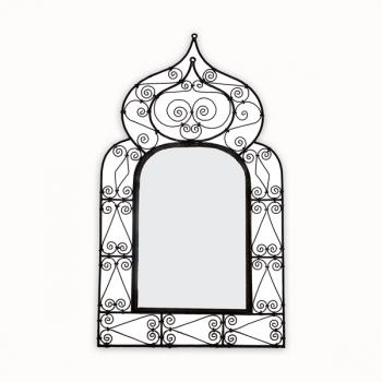 Spiegel aus Schmiedeeisen Koba_M H 100cm