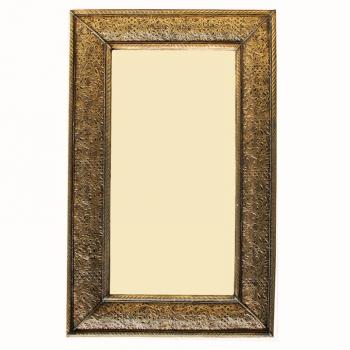 Spiegel aus Messing Dahab H80