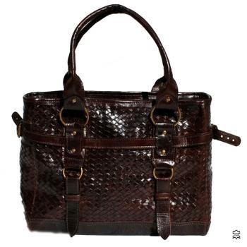 Damentasche aus echtem Leder