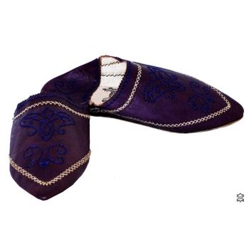Marokkanische Schuhe Violet