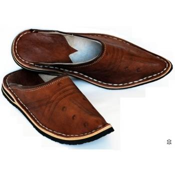 Marokkanischer Schuhe Braun