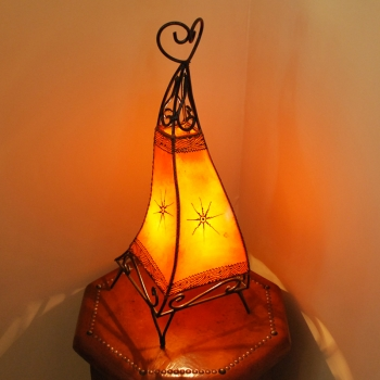 Henna Stehlampe CANAR 60 Orange