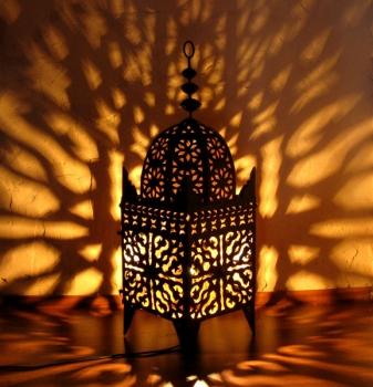 Schmiedeeiserne Laterne aus Marokko Jama65