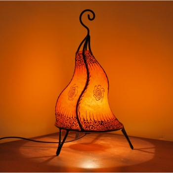 Henna-Stehlampe CHEVAL40 orange
