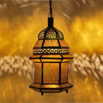 Orientalische Laterne MSEDES Amber