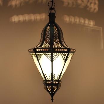 Orientalische Lampe Balota Weiss