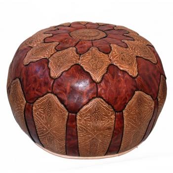 Sitzkissen aus Marokko kora-mzergat D60cm