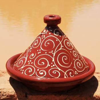 Tajine aus Marokko ,,Henna_1