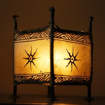 Orient Windlicht Carre Natur
