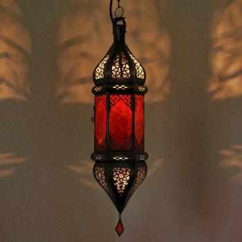 Orientalische Deckenleuchte SULTANA Rot