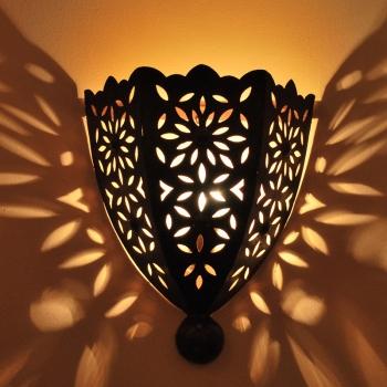 Wandlampe  Zina_1, aus Marokko.