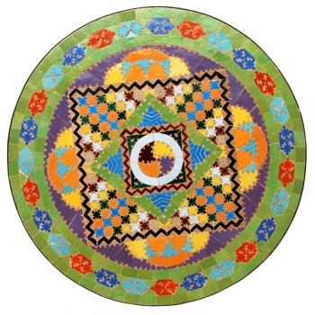 Gartentisch aus Marokko Gaudi D65cm