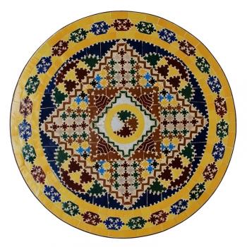 Mosaiktisch aus Marokko Gaudi-1