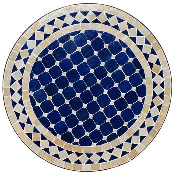 Mosaiktisch Beistelltisch D45cm
